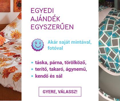 b4c0f6ea45b4 ... Ajándék ötletek, egyedi ajándékok textil nyomtatással, fényképpel is.